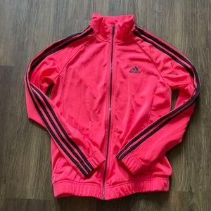 Adidas Magenta Lightweight Track Jacket